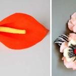 Make a paper calla lily
