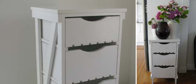 DIY wooden cabinet