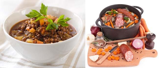 chorizo lentil pilaf