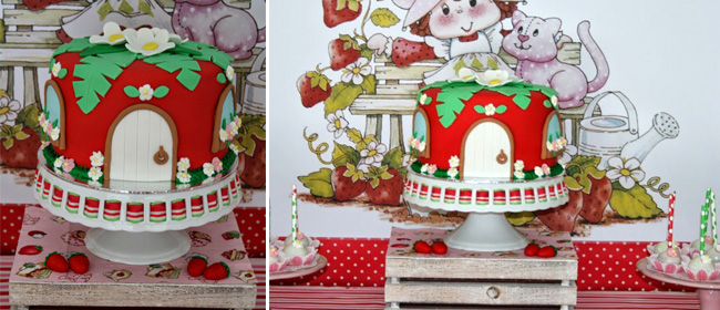 & Strawberry Shortcake party + Giveaway!