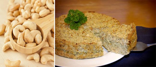 Cashew-nut-loaf