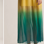 Dip dye a dress