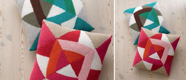 Crochet a cushion