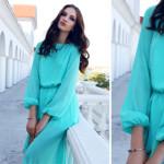 Dye a plain dress