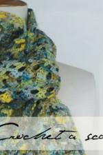 Crochet-silk-scarf-writing