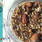 Sugar-free banana cluster granola