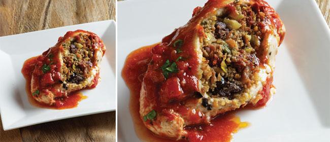 Best of Quinoa: Chicken Fillets with Pancetta