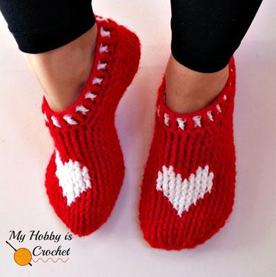 Crochet Slippers 10 Free Patterns