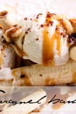 5-minute dessert: Caramel banana split