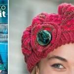 Knit a candy swirl beret