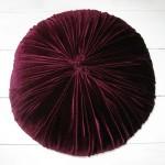 DIY velvet cushion