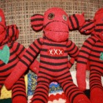 DIY sock monkeys