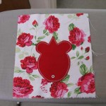 DIY mouse drawstring bag step2