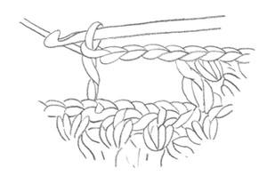 Pattern thumbhole