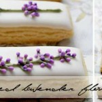 Iced lavender flower tutorial