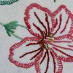 Stitch library: Buttonhole stitch