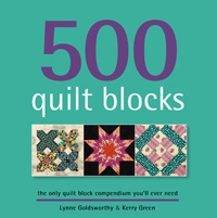 500 Quilt Blocks cover