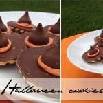 Halloween cookies – witches' hats