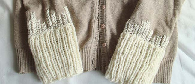 Cardigan upcycle