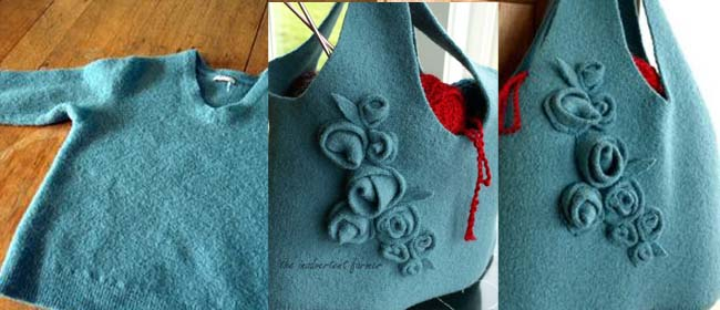 Felted bag diy