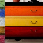 Paint your furniture multiple colours