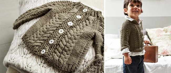 Toddler Cardigan Knitting Pattern : Knit a toddler s cardigan