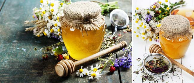 Homemade-herbal-honey