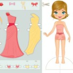 Free paper cut-out dolls