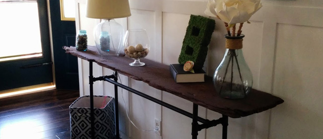 DIY-console-table