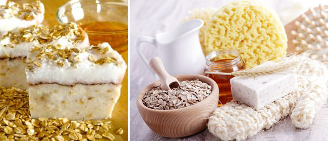 Oat-and-honey-soap