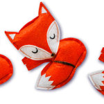 Make a foxy brooch