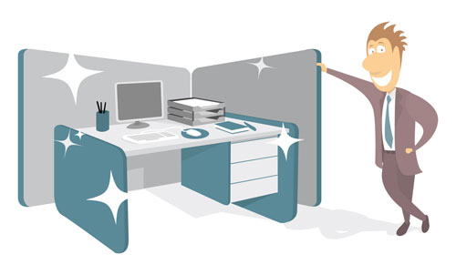 Cubicle Cleaning Services : Is your office desk a haven for germs