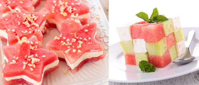 Watermelon-appetizers
