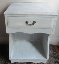 Shabby chic makeover - the end result.