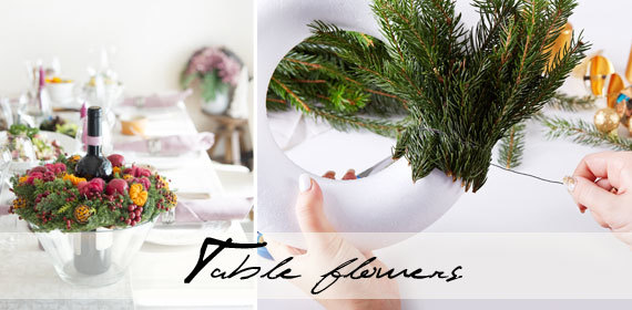 Easy table flowers