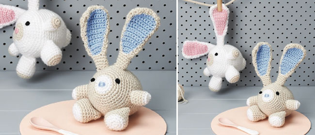 Adorable Rabbits To Crochet