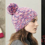 Knitted hats for the whole family