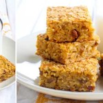 Pumpkin and oat bars