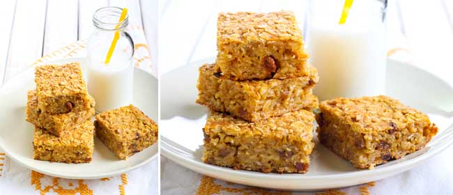 Pumpkin-oat-bars