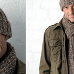 Scarf and beanie for your man