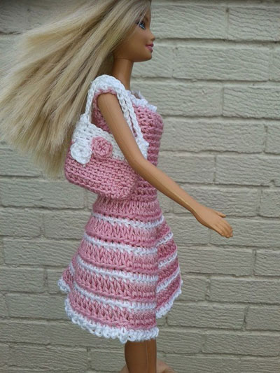 Crocheted Barbie Clothes 10 Free Patterns