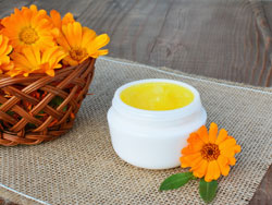 Homemade calendula salve