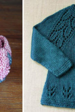 Knitted-baby-clothes