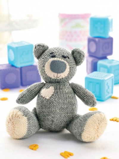 Knitted-teddy