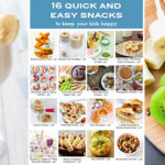 16 Quick and Easy Snacks