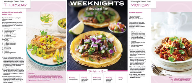 Weeknight-meal-plan