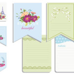 Printable notecards for your handbag