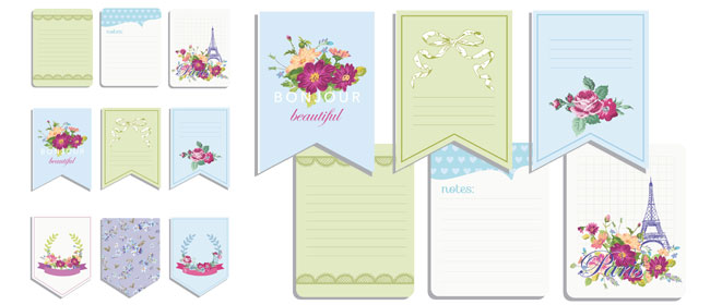 photograph regarding Printable Notecard named Printable notecards for your handbag