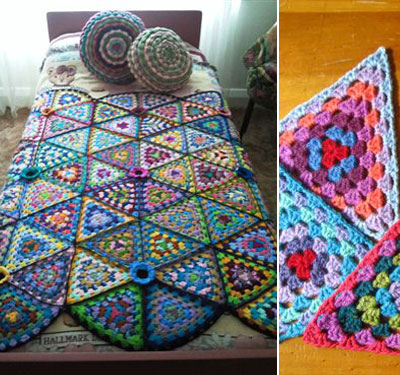 Free Online Christmas Crochet Afghan Patterns : 10 free crochet blanket patterns