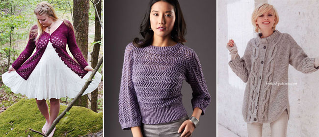e419a04f9 Sweaters and cardigans  10 free patterns